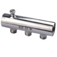 不锈钢地暖分集水器(单头螺纹)