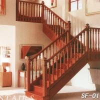南京楼梯-南京实木楼梯-盛发楼梯1