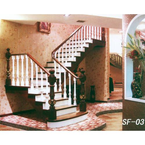 南京楼梯-南京实木楼梯-盛发楼梯15