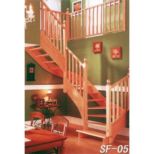 南京楼梯-南京实木楼梯-盛发楼梯14