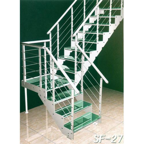 南京楼梯-南京玻璃楼梯-盛发楼梯11