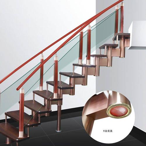 南京楼梯-南京玻璃楼梯-盛发楼梯9