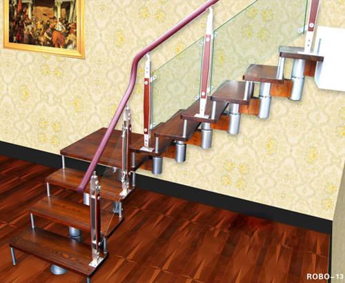 南京楼梯-南京玻璃楼梯-盛发楼梯8