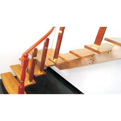 南京楼梯-南京玻璃楼梯-盛发楼梯4