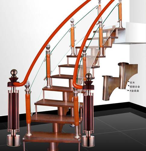 南京楼梯-南京玻璃楼梯-盛发楼梯2