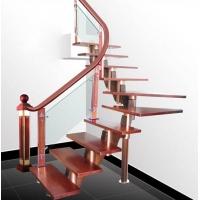 南京楼梯-南京玻璃楼梯-盛发楼梯1