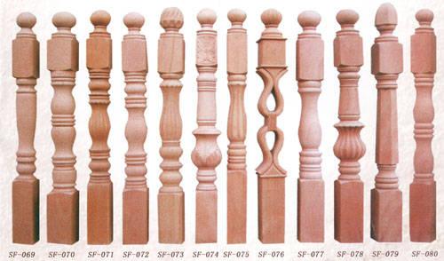 南京楼梯配件-盛发楼梯-楼梯立柱4
