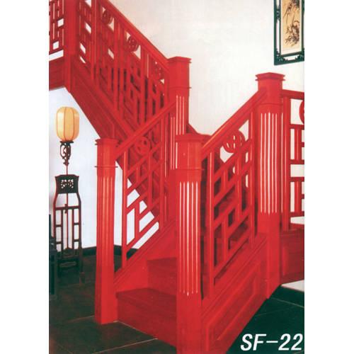 南京楼梯-南京实木楼梯-盛发楼梯19