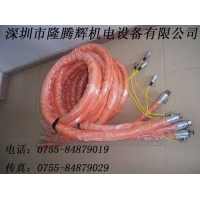 电加热输胶管,保温管,加热软管,管道保温管,管道加热管,管.