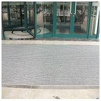 铝合金防尘防滑垫 铝合金地毯 嵌入式地垫