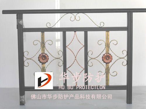 华步铝艺护栏,铝合金楼梯扶手产品图片,华步铝艺护栏,铝合金楼梯