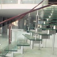 南京玻璃楼梯-南京楼梯-南京华艺楼梯