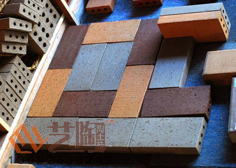 陶土砖系列 江苏宜兴艺陶陶土砖烧结砖厂家西安直销