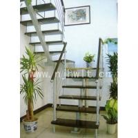 南京钢木楼梯-宏伟钢木楼梯-38