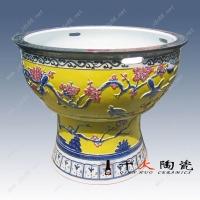 高脚陶瓷花盆,陶瓷树盆,景德镇陶瓷园林大缸