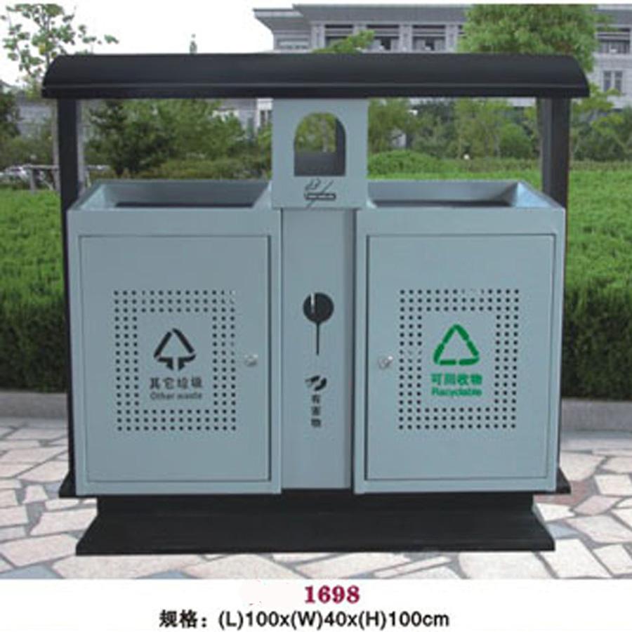 钢板垃圾桶 环保垃圾桶