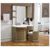 洁仕高卫浴-压克力盆浴室柜 温妮莎梳妆柜1200#