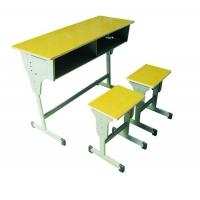 鹤壁色泽柔和升降课桌椅、双人课桌椅、课桌椅、幼儿园课桌椅