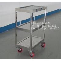 医用不锈钢推车-上海平板推车价格-不锈钢推车化妆-实验室手推