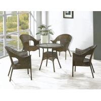 户外椅、塑料椅、PE仿藤椅、编藤桌椅、编藤椅、休闲椅