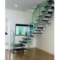 铝镁合金双滑轨楼梯