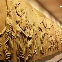 青海园林景观雕塑   西宁生态园林设计  专业的西域雕塑