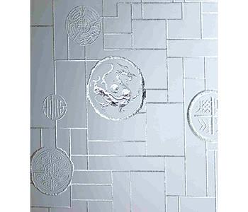成都韩国三级特種玻璃(冰雕係列)-蜀都印象