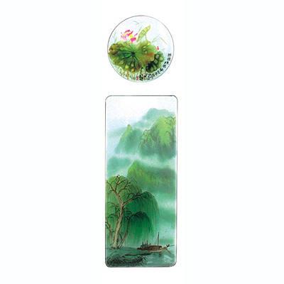 成都韩国三级特種玻璃(國畫係列)-國畫係列