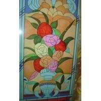 国宁精品彩绘玻璃