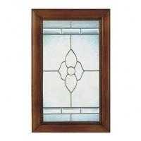 铜(银)条玻璃门9号