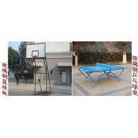 宜昌玻璃钢篮球板乒乓球台