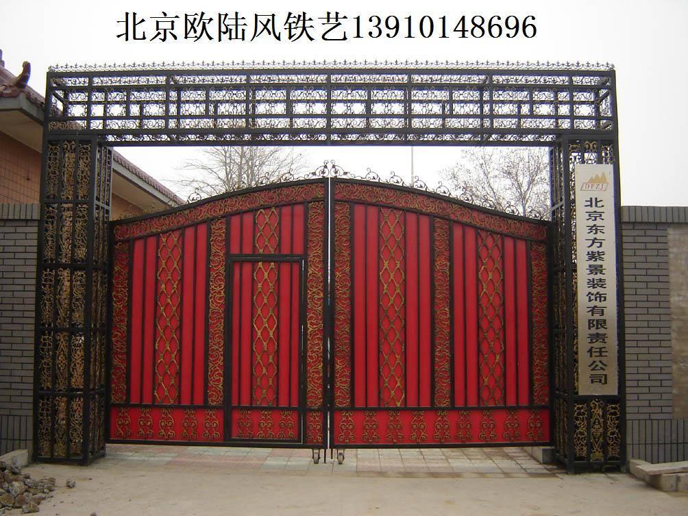 北京欧陆风铁艺卷帘门窗