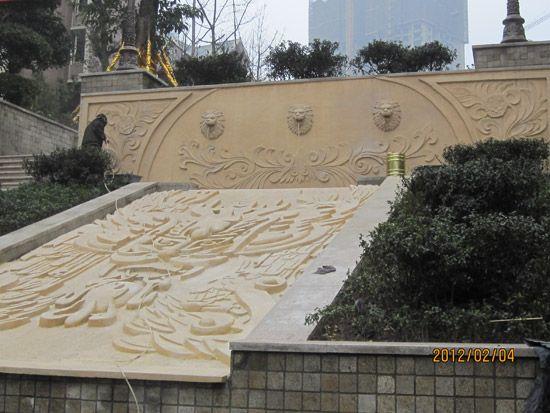 成功案例 - 重庆天上天路雕塑制作厂 - 九正建材