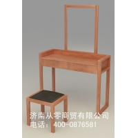 从零家具 从零纯香椿木实木家具 梳妆台
