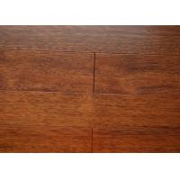纯实木锁扣地热地板印茄木深本色