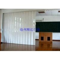 会议室折叠隔断门 学校室内折叠门