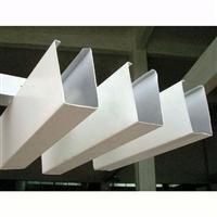 木纹铝方通吊顶规格铝挂片尺寸滴水挂片吊顶氟碳铝方通