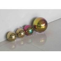 不锈钢球,彩色不锈钢装饰球,不锈钢空心球订做加工