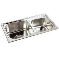 成都唯一卫浴不锈钢水槽 - VJ1-008-H2