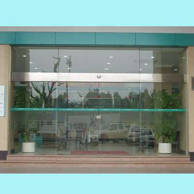 高明感应自动玻璃门安装及维修