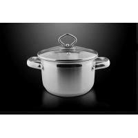 不锈钢汤锅煮奶锅热奶锅 炖锅煮锅18CM厨具电磁炉煤气通用
