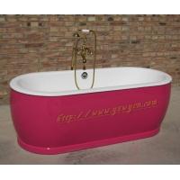 豪华浴缸 独立式铸铁浴缸