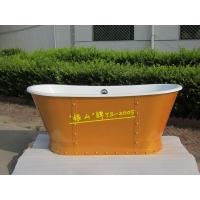 银山卫浴直销铸铁浴缸