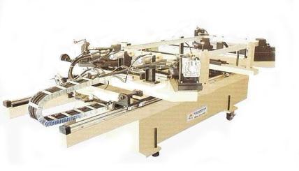 平板太阳能设备 平板太阳能液压自动四角组框机产品