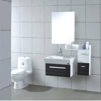 興興玻璃潔具-pvc衛浴柜 XA-7028