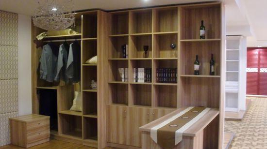 传统自制衣柜,成品板式衣柜