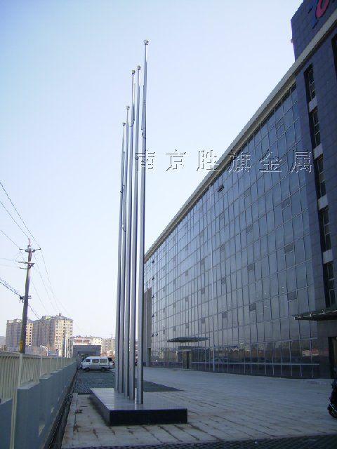 南京旗杆,南京锥形旗杆,南京不锈钢旗杆,南京锥形旗杆批发
