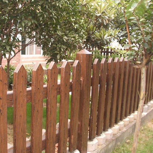 仙竹牌仿木-南京水泥仿木栅栏-栅栏2