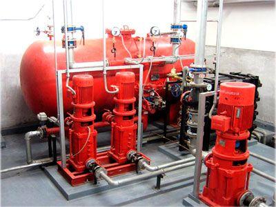 气体顶压应急消防气压给水设备图片