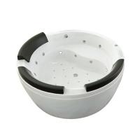 南京按摩浴缸-落地全裙浴缸带电子全功能按摩及振捶按摩